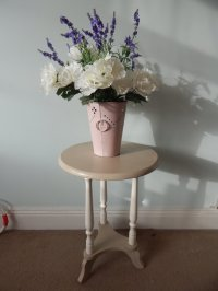 SHABBY CHIC ROUND COFFEE TABLE , SIDE TABLE # # # SOLD ...