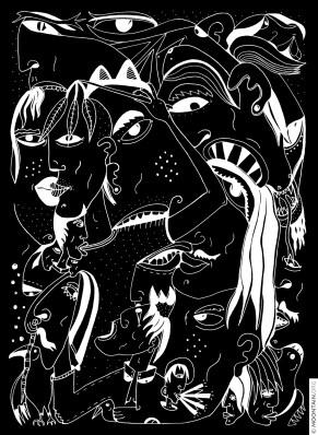 DRAMATIS PERSONÆ (black)