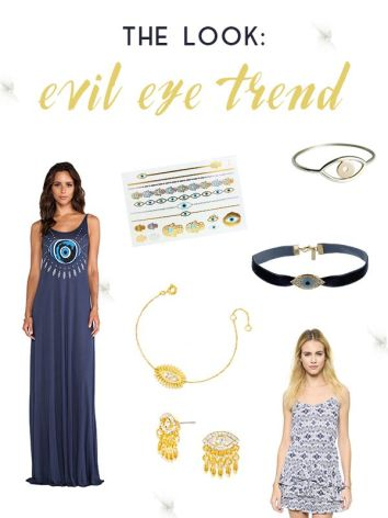 Image result for evil eye fashion