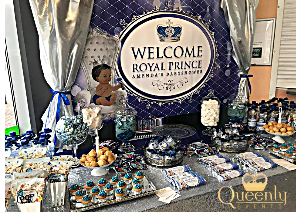 Babyshower Queenly Events Decoratie