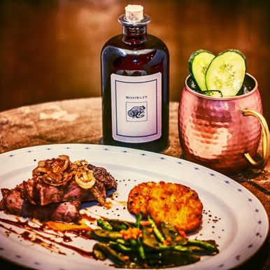 MOORGIN - Gin aus Kolbermoor Bavarian Mule Dinner