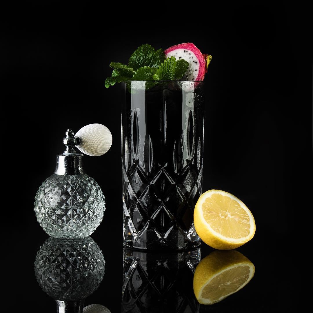 MOORDESTILLERIE Kolbermoor Barcatering Cocktail Black Detox MOORGIN Tonic