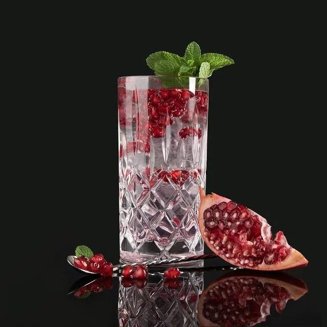 MOORDESTILLERIE Kolbermoor Barcatering Cocktail Granatapfel MOORGIN Tonic