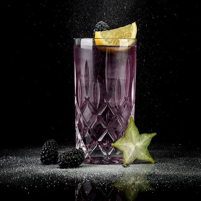 MOORDESTILLERIE Kolbermoor Barcatering Cocktail Mûre MOORGIN Tonic