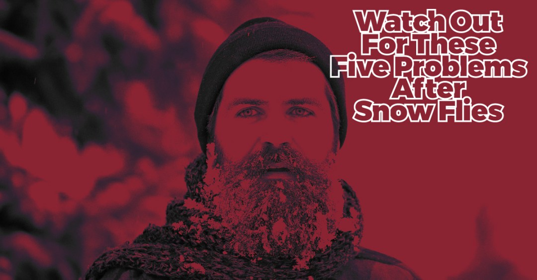 Watch out for these 5 problems after snow flies