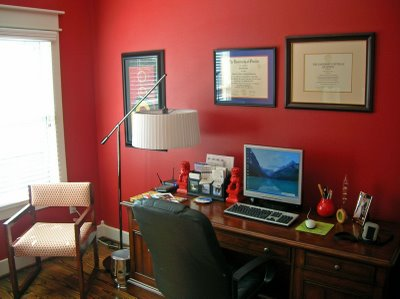 Benjamin Moore Moroccan Red  Room Lust
