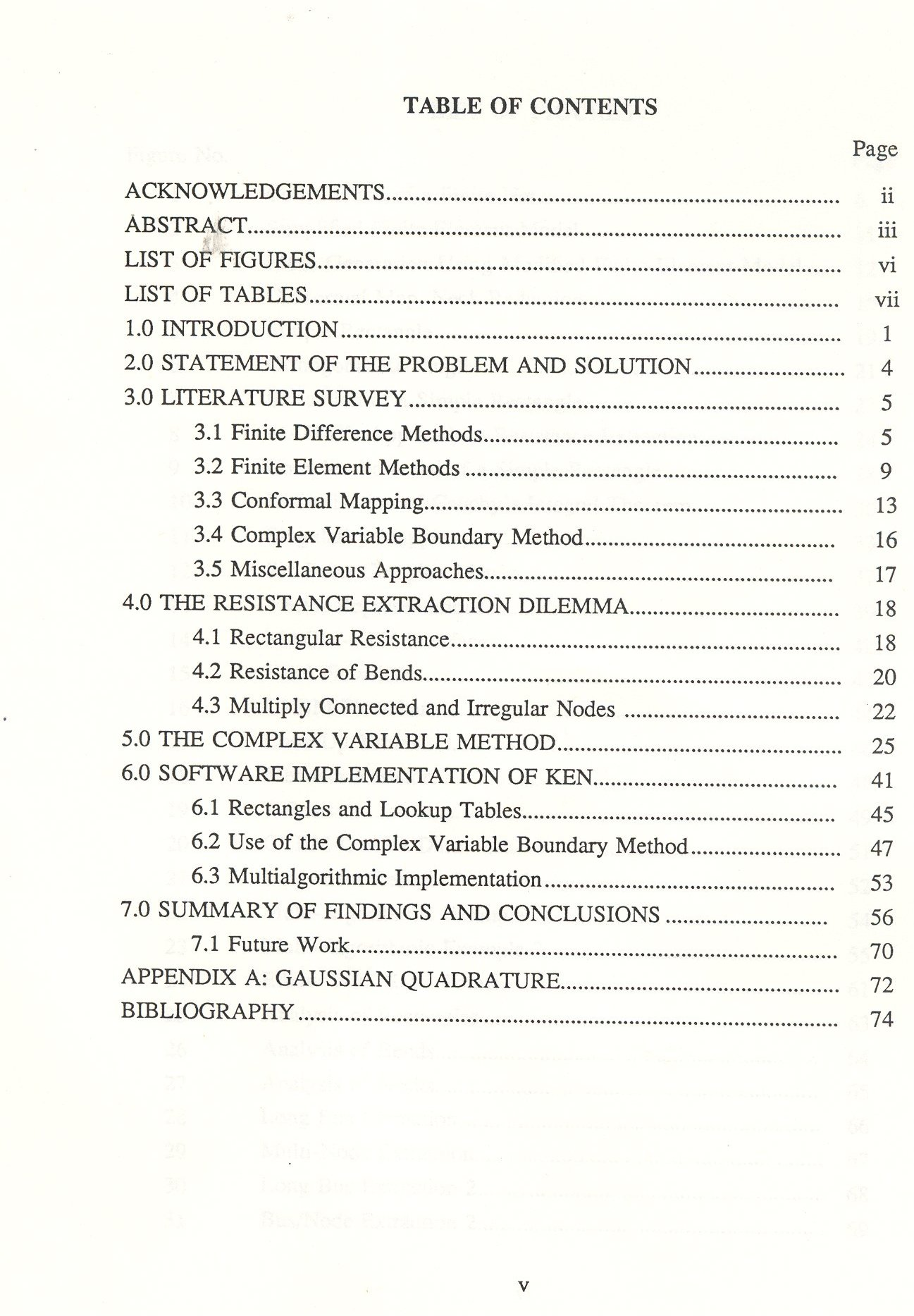 Essay Table Of Contents Essay Table Of Contents Example Essay Table