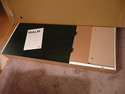 Assembling The Ikea Malm 6 Drawer Dresser Moore Diy