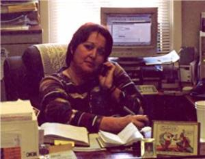 Me at my Desk in 2004