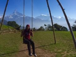Fun swing with killer views