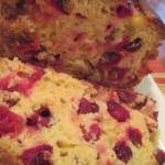 Cranberry Clementine Almond Bread