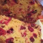Cranberry Clementine Almond Bread