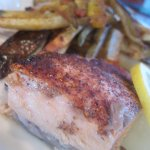 Grilled Plank Salmon