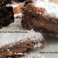 Knock Your Socks Off Brownies & VIDEO