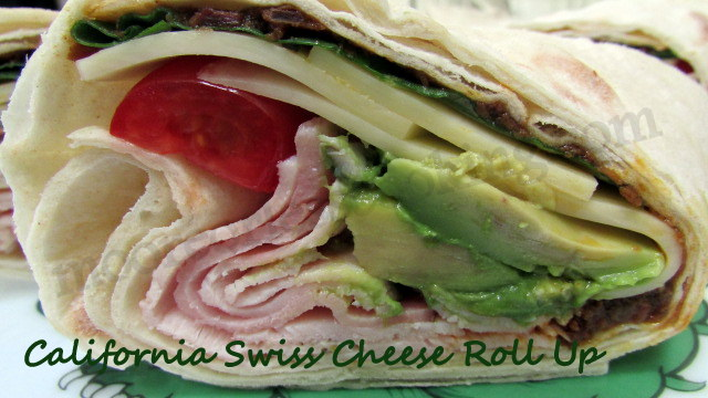 California Swiss Cheese Roll Up