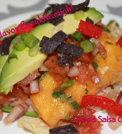 Grilled Salsa Chicken | Kecia's Flavor Breakthrough