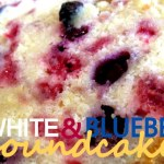 Berry Pound Cake ( Red, White and Blue)