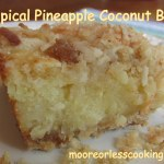 Tropical Pineapple Coconut Bars