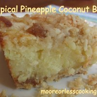 Tropical Pineapple Coconut Bars & VIDEO