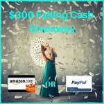 Fall Cash Giveaway! ~$300~
