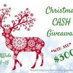 $300 Christmas Cash Giveaway!