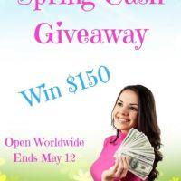 Spring Cash Giveaway!!