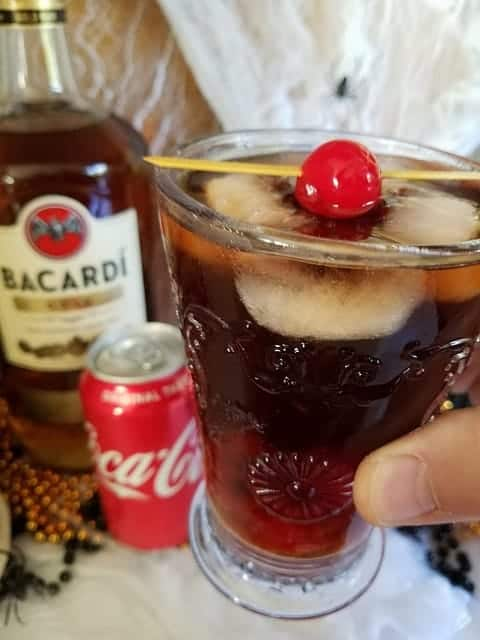 Halloween Pirate's Last Call Cocktail