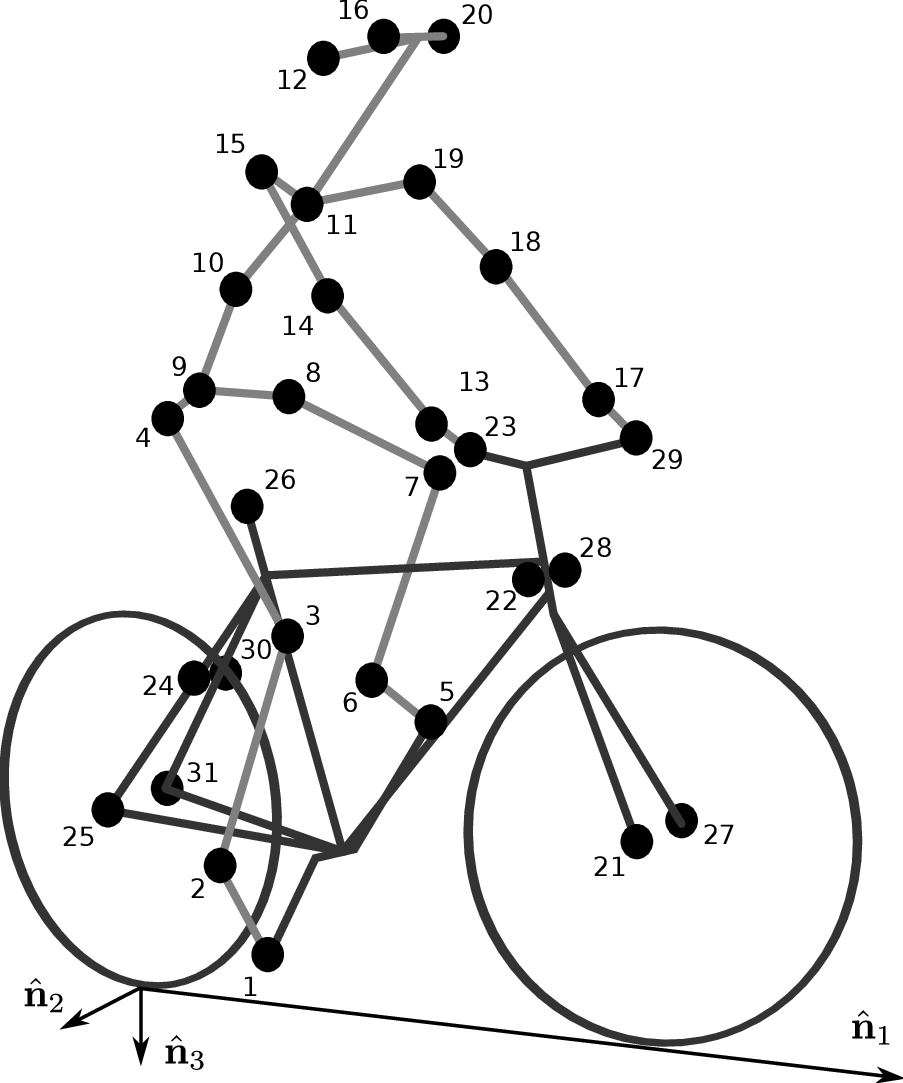 Motion Capture — Human Control of a Bicycle: Jason K. Moore