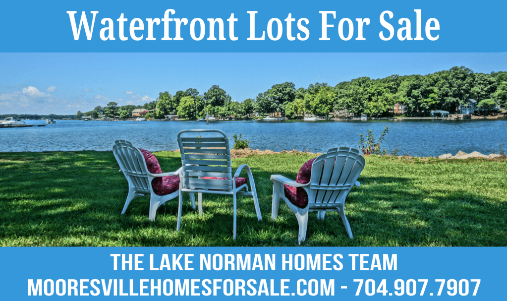 Mooresville Waterfront Lots For Sale