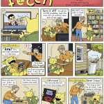 Guest strip by Adrian Wallace