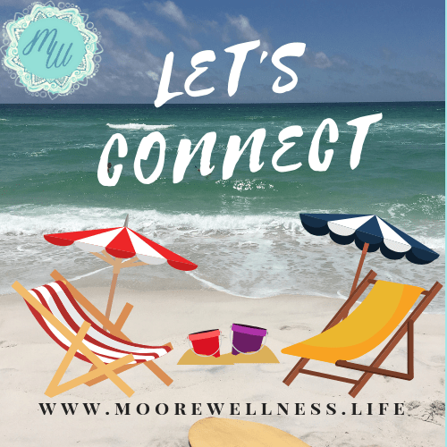 Beach with 2 chairs: Let's Connect