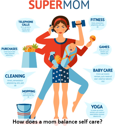Importance of Self Care for Moms: Better Care for Self & Others