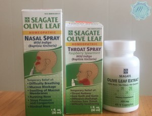 Natural throat spray