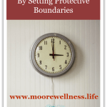 create time with protective boundaries