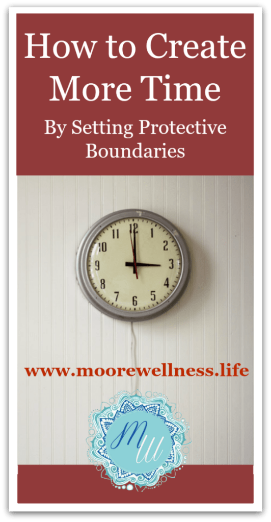 create protective time boundaries