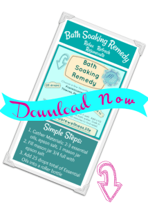bath soaking recipe