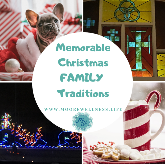 Did you know that relationships are healing?  Here's 35 memorable ideas to build Family Traditions for all ages this Christmas.  Read more... https://moorewellness.life/34-memorable-christmas-family-traditions-for-all-ages/