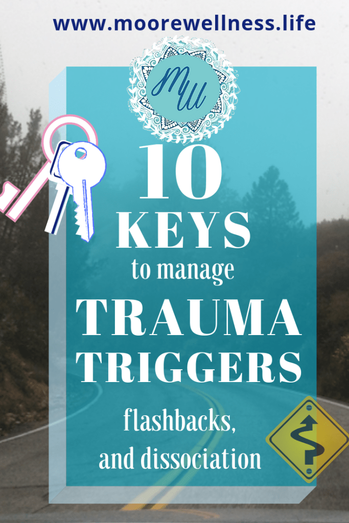keys to manage trauma triggers