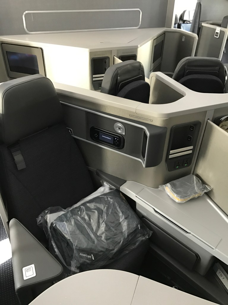 American Airlines Business Class Pod