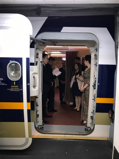 Singapore Airlines A380 L2 Boarding Door