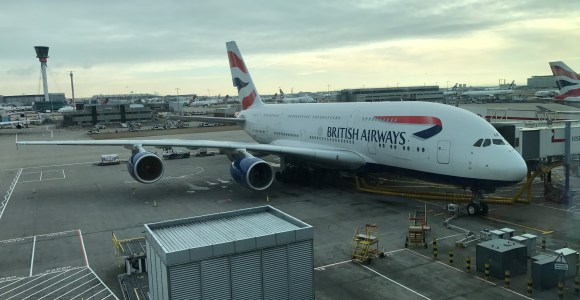 British Airways To Fly The A380 To Chicago O'Hare