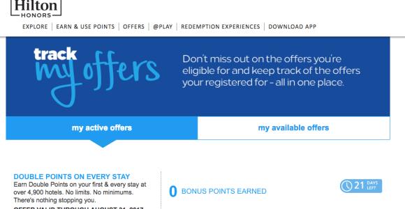 Easy Ways To Earn Bonus Hilton Honors Points