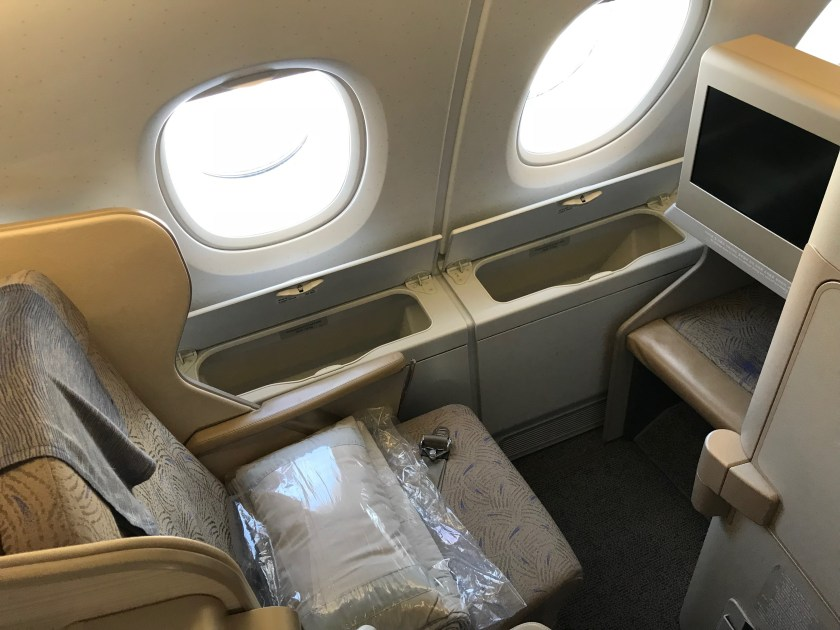 Asiana Airlines A380 Smartium Class Seat