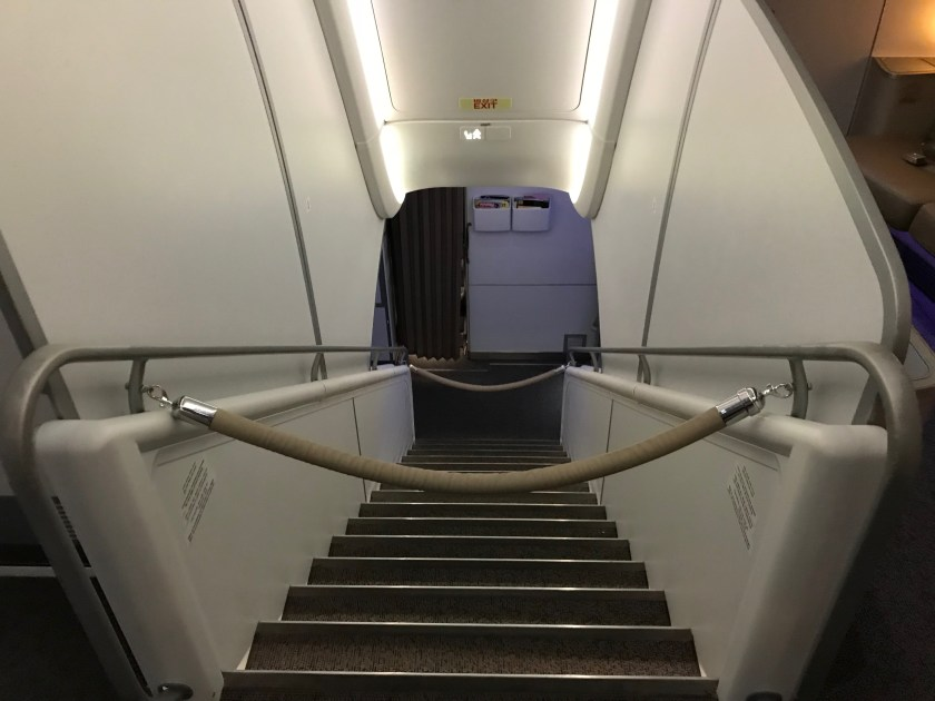 Asiana Airlines A380 Grand Staircase