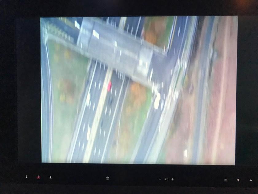 Qatar Airways A350 Downward Camera