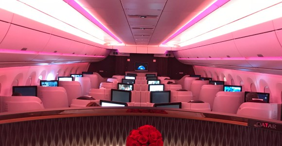 Review: Qatar Airways A350 Business Class Doha To New York JFK