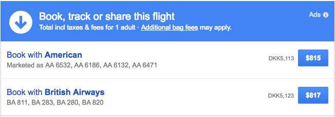 British Airways Premium Economy Copenhagen To Los Angeles