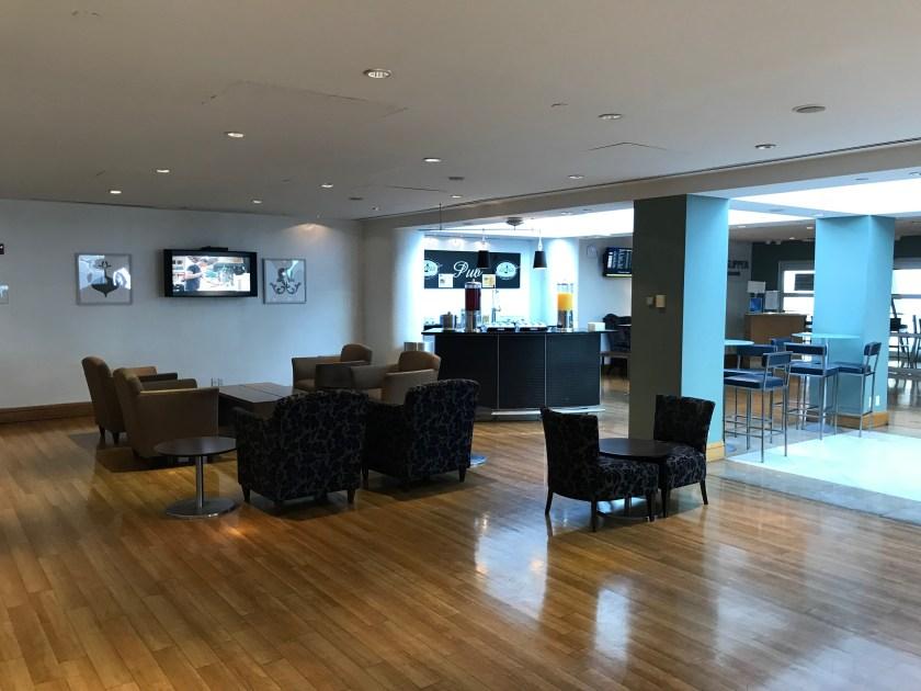 British Airways Galleries Lounge New York JFK Satellite Bar