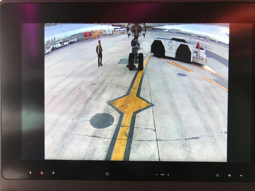 Qatar Airways A350 Business Class Nose Camera