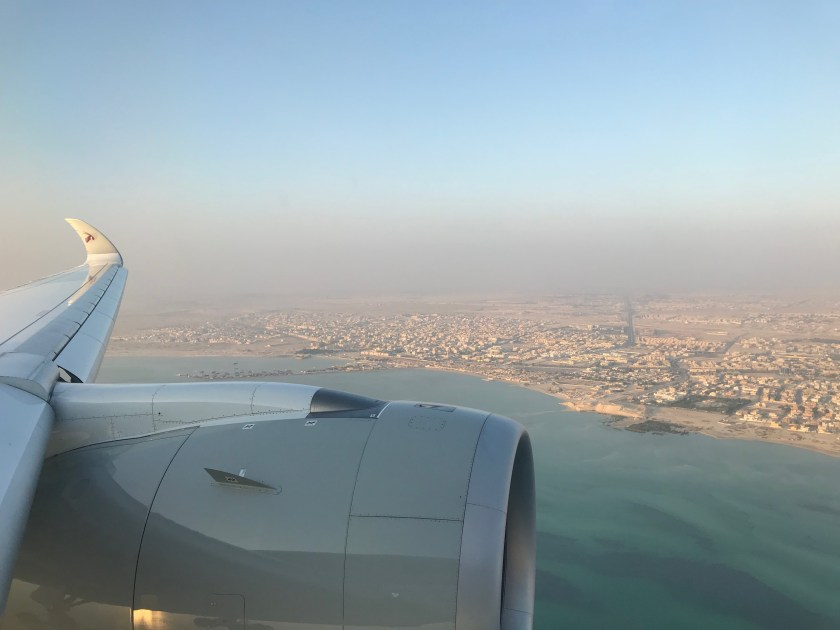 Approach Into Hamad International